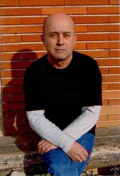 Daniel Massé photographié dans l'enceinte du centre de détention de Muret en Novembre 2006